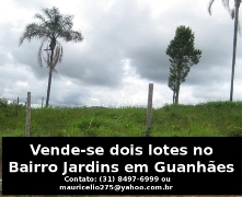 Vende-se lote no bairro Jardins