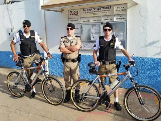 De olho na segurança: 25º Cia de Polícia Militar lança a Bike Patrulha em Guanhães