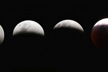 Eclipse total da superlua é visto das Américas ao Oriente Médio