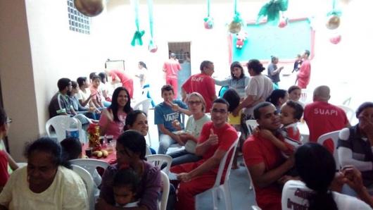 Ceia compartilhada: Presídio de Peçanha realiza Natal nos Pavilhões com 90 detentos e seus familiares